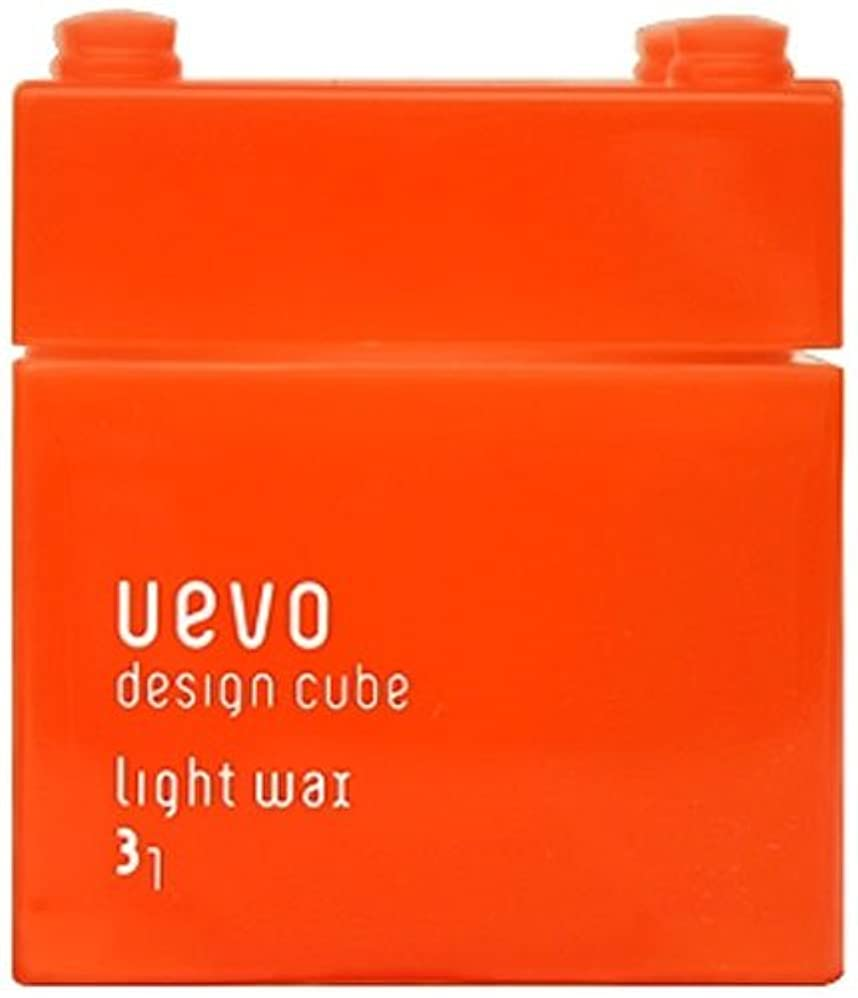 直面する忘れられないスケルトンウェーボ デザインキューブ ライトワックス 80g