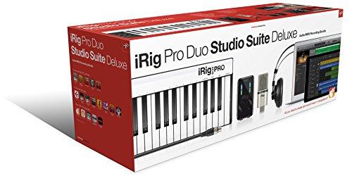 IK Multimedia iRig Pro Duo Studio Suite Deluxe オールインワン・ホームスタジオバンドル【国内正規品】