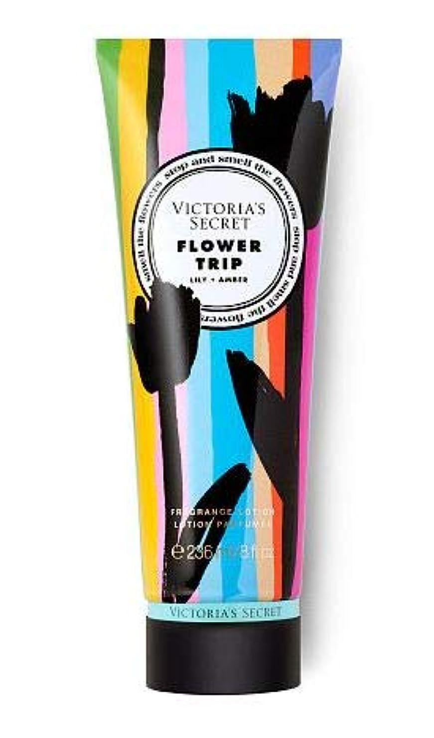 不完全コードレス無礼にVICTORIA'S SECRET Flower Shop Fragrance Lotion Flower Trip