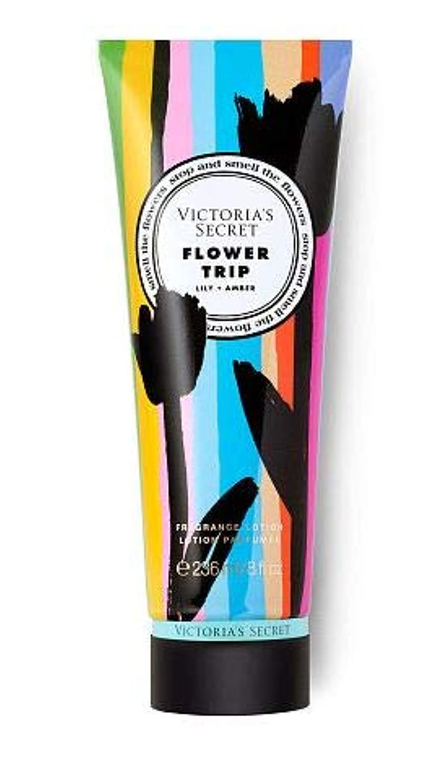 トン眠っている許さないVICTORIA'S SECRET Flower Shop Fragrance Lotion Flower Trip