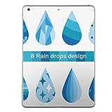 igsticker 第1世代 iPad Pro 9.7 inch インチ 共通 スキンシール apple アップル アイパッド プロ A1673 A1674 A1675 タブレット tablet シール ステッカー ケース 保護シール 016333 あじさい 梅雨 花