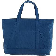 Konbu-N Tote Bag L 1332-699-3903: Turquoise