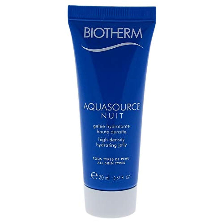 こっそり請願者慢性的Aquasource Nuit High Density Hydrating Jelly - All Skin Types