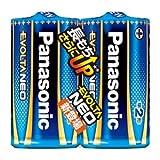 (業務用20セット) Panasonic 乾電池エボルタネオ単2形 2本入 LR14NJ/2SE ds-1914744