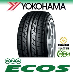 ヨコハマ(YOKOHAMA)  低燃費タイヤ  ECOS  ES300  245/40R18  93W