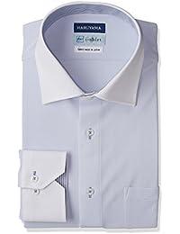 (はるやま)HARUYAMA(ハルヤマ) i-shirt 完全ノーアイロン 長袖 クレリックアイシャツ M151180095 81 サックス LL84(首回り43cm×裄丈84cm)