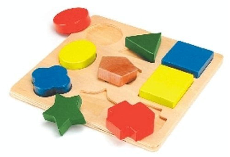 形あわせパズル C (木製玩具)