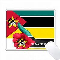 モザンビークの国旗写真 PC Mouse Pad パソコン マウスパッド