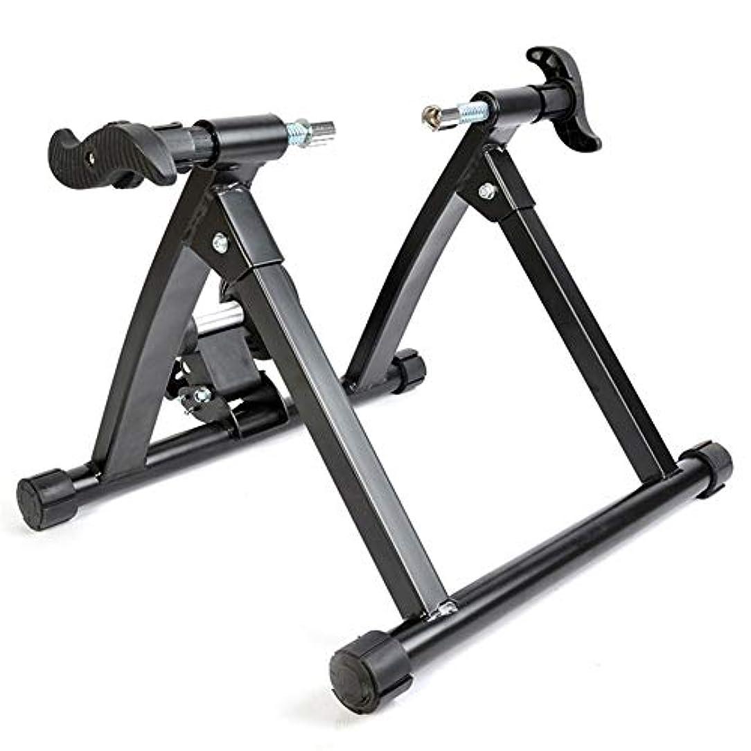 細分化する愛されし者イデオロギー自転車用磁気マウンテンロードトレーニングプラットフォームターボトレーナー、ロード&マウンテンバイク用屋内バイクトレーナー