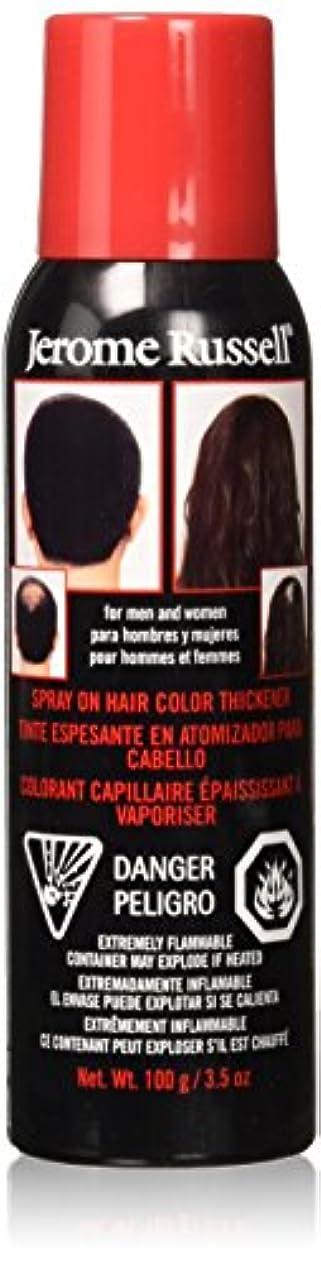 ビジュアルまつげコンパニオンJEROME RUSSELL Hair Color Thickener - Medium Brown (並行輸入品)