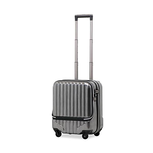 スーツケース 機内持込 軽量 小型 フロントオー...の商品画像