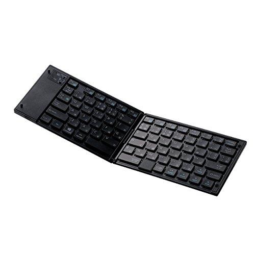 ELECOM (エレコム) ワイヤレス キーボード  TK-FLP01PBK B01M0NCJAH 1枚目
