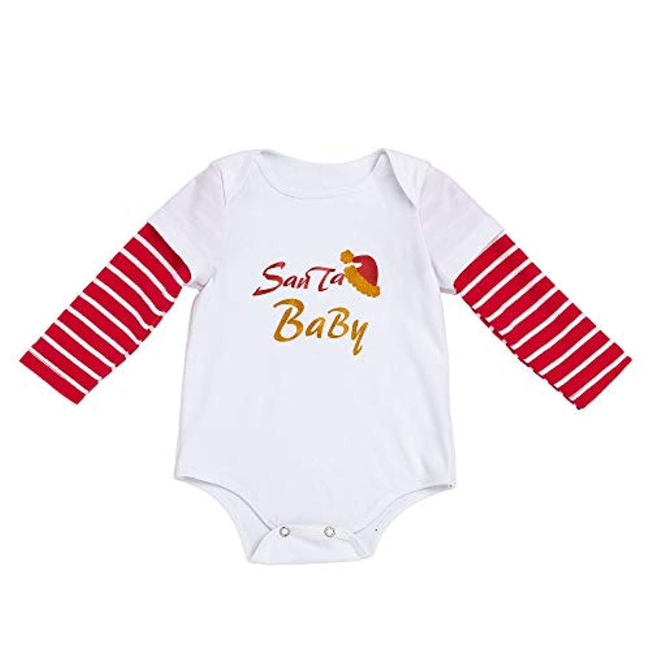 放つセラフサンダース(プタス) Putars 赤ちゃん幼児の女の子ロングスリーブクリスマスコスチュームロンパースの服装+ヘッドバンド 3 ヶ月-18 ヶ月