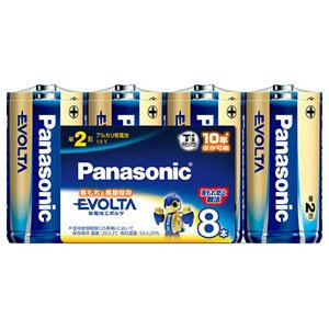 エボルタ 電池単2LR14EJ8SW8P