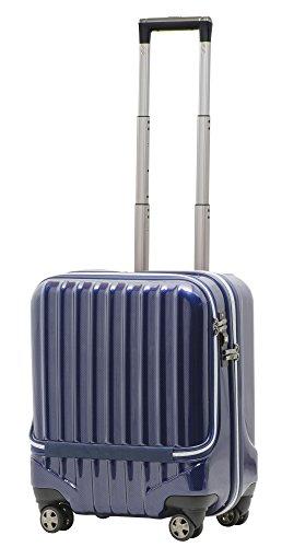 スーツケース 機内持込 軽量 小型 フロントオープン ダブル...