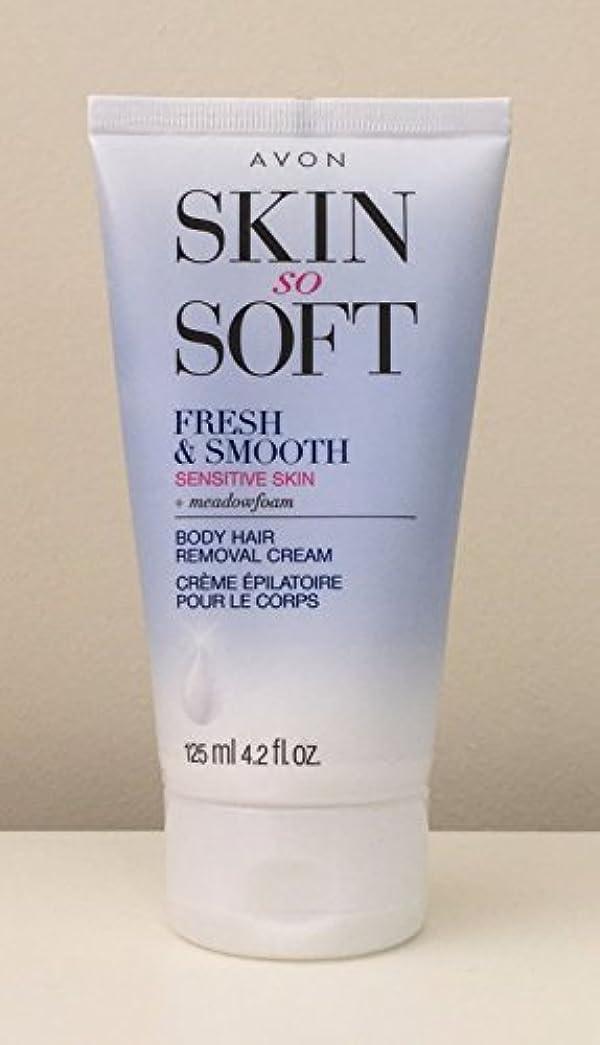 弱点上モットーAVON Fresh & Smooth Hair Removal Cream Sensitive Skin 4.2 Oz. [並行輸入品]