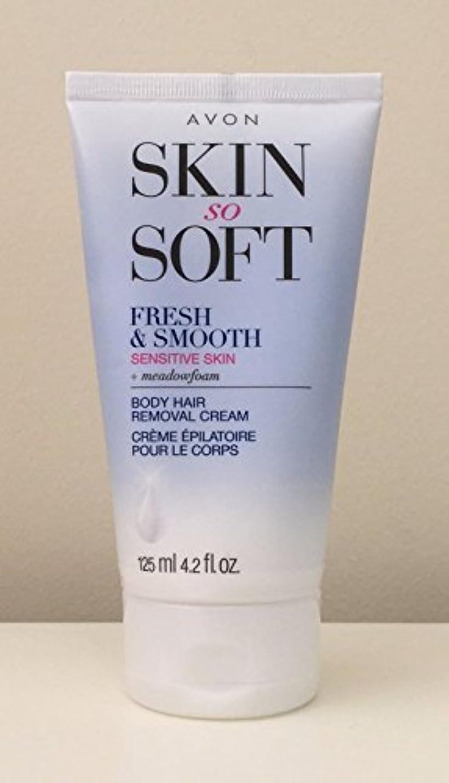 暫定のインデックスムスタチオAVON Fresh & Smooth Hair Removal Cream Sensitive Skin 4.2 Oz. [並行輸入品]