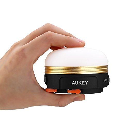 ランタン LEDランタン アウトドア用品 AUKEY ナイトライト ベッドサイドランプ ランプ 懐中電灯 USB充電式 ...