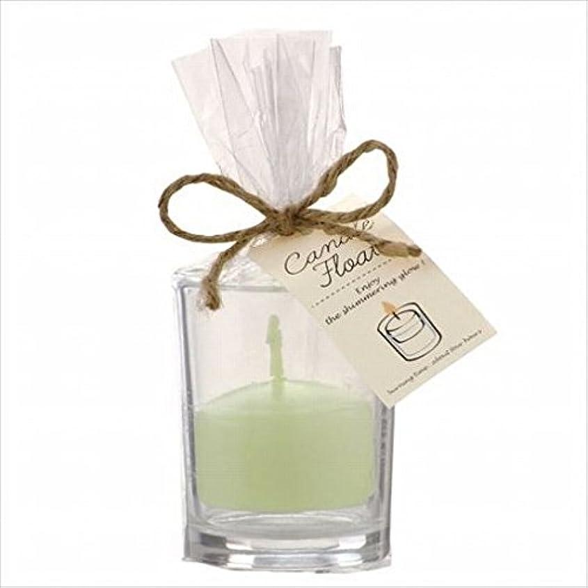 地上でシャープが欲しいkameyama candle(カメヤマキャンドル) キャンドルフロート 「 ホワイトグリーン 」(A7770000WG)