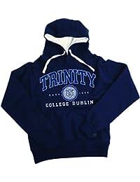 Trinity College Navy Hoodie Collegiate Seal