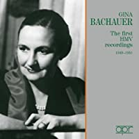 First Hmv Recordings 1949-51 by BACH / LISZT / MOZART (2005-07-11)