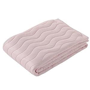 東京西川 敷きパッド シングル リバーシブル 接触冷感 クール ひんやり 綿パイル オールシーズン使える アイスプラス ピンク PM08001015P