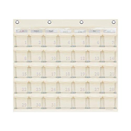 カレンダーポケット Mサイズ オフホワイト W-416