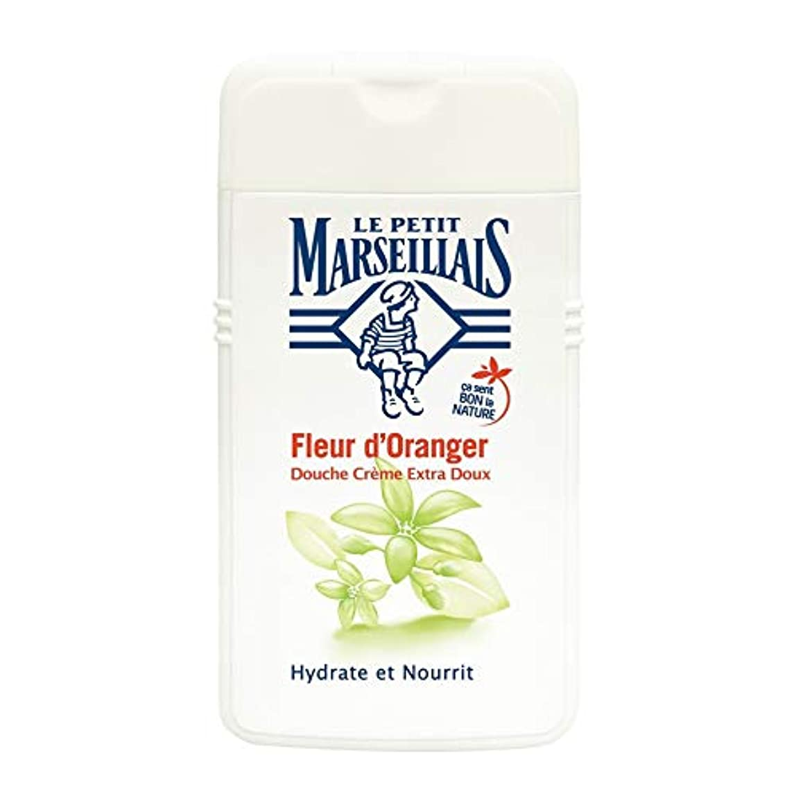 寸前溶かす閉じ込めるル?プティ?マルセイユ(Le Petit Marseillais) オレンジフラワー シャワークリーム ボディウォッシュ 250ml