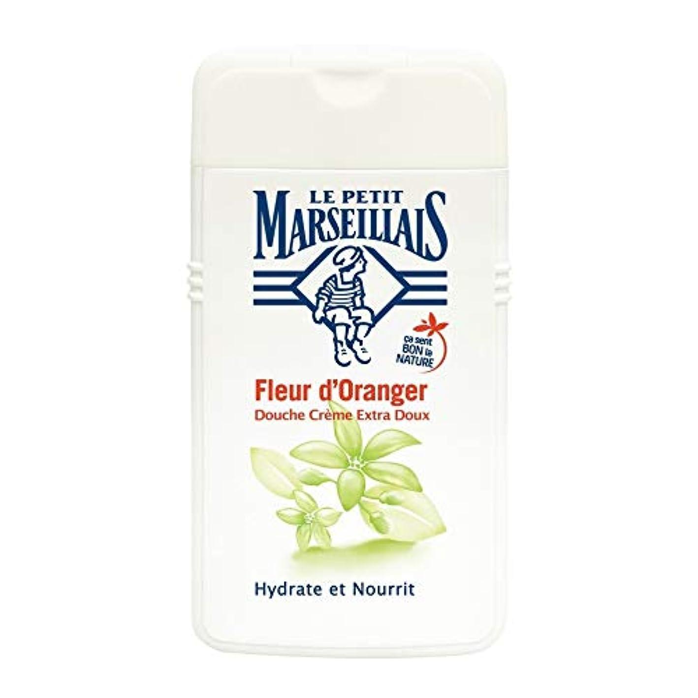 インペリアルぬいぐるみ猫背「オレンジフラワー」 シャワークリーム フランスの「ル?プティ?マルセイユ(Le Petit Marseillais)」 250 ml ボディソープ