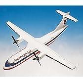 1: 48 エグゼクティブシリーズ アメリカン Eagle ATR-42 Handcrafted Mahogany (並行輸入)