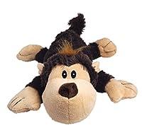 KONG Cozie SPUNKY THE MONKEY Medium Dogs Toy Brown (ZY25)