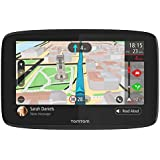 TomTom Car Sat Nav GO 620, 6 Inch with Handsfree Calling, Siri, Google Now, Updates via WiFi, real-time traffic updates via Smartphone, World Maps, Smartphone Messages, Capacitive Screen