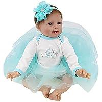 Nice Days(ナイス ディズ)  ベビー ケア トレーニング ドール まるで本物の赤ちゃん 女の子 抱き人形 高齢者 ドールセラピー 保育士 養成 55㎝