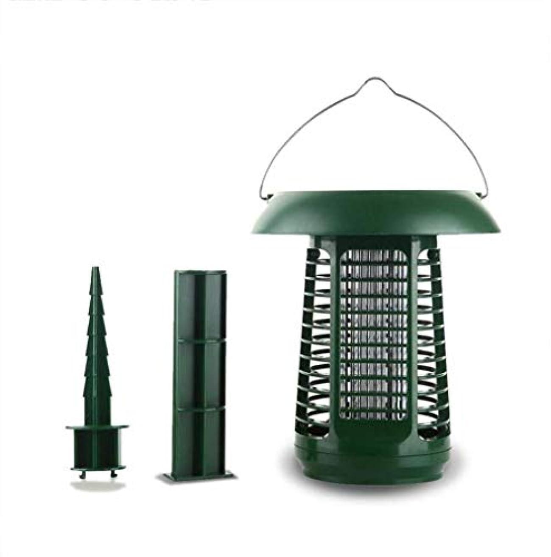 やる処方する束ソーラー昆虫キラーランプ、バグザッパーハエ蚊キラー、屋外デュアルモード防水蚊ランプ(アダプターなし)