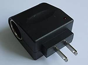 No brand AC-DC 変換アダプター(コンセント AC100VからDC12V出力シガーソケット変換)500mAh