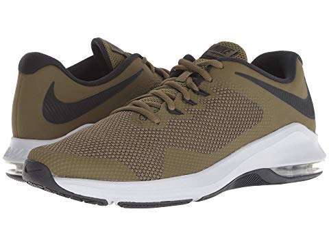 NIKEナイキ メンズスニーカー・靴・シューズ Air Max Alpha Trainer Olive Canvas/Black/Olive Flak/Wolf Grey US 13 31cm D - Medium 並行輸入品