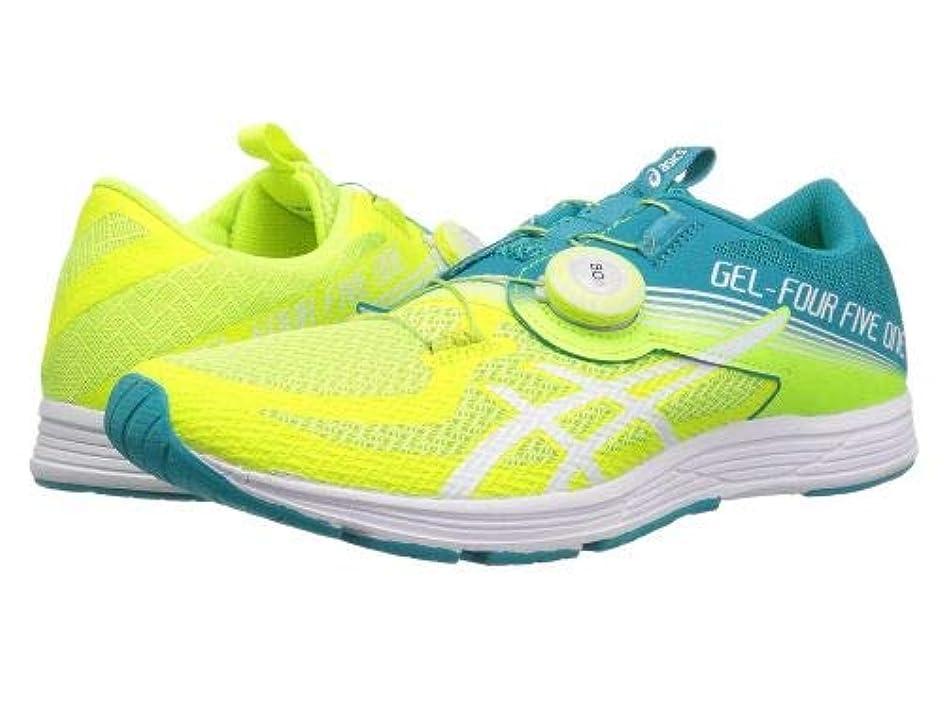マネージャー海洋の弱めるASICS(アシックス) レディース 女性用 シューズ 靴 スニーカー 運動靴 GEL-451 - Flash Yellow/Lagoon [並行輸入品]