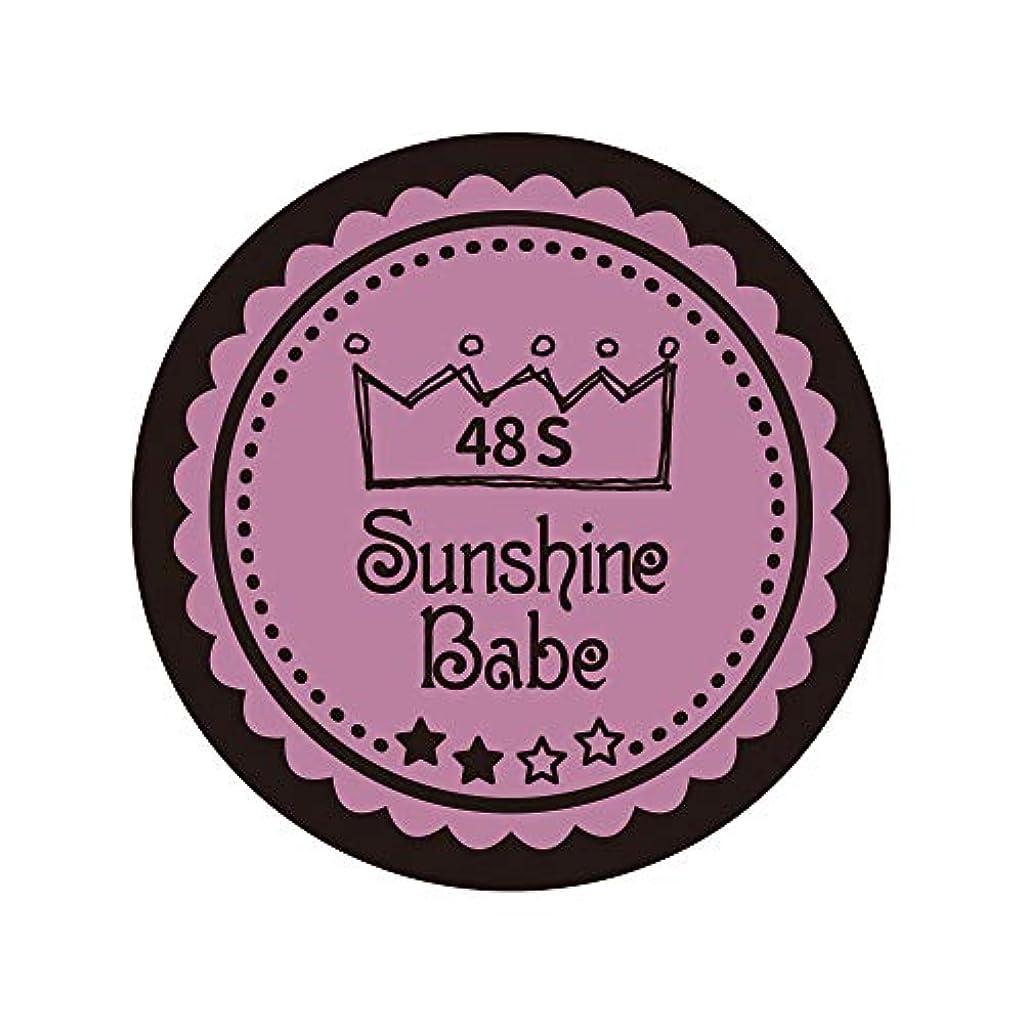 親恩恵コスチュームSunshine Babe カラージェル 48S ペールモーブ 2.7g UV/LED対応