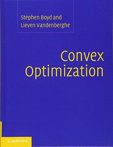 Convex Optimizationの詳細を見る