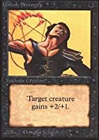 Magic: the Gathering - Unholy Strength - Alpha