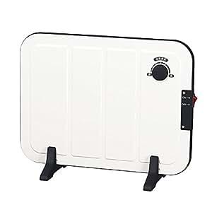 山善(YAMAZEN) ミニパネルヒーター(温度調節機能付) ホワイト DP-SB164(W)