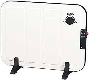 山善 ミニパネルヒーター(温度調節機能付) ホワイト DP-SB164(W)