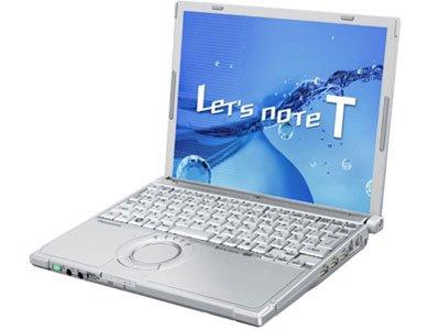 中古パソコン ノートパソコン Panasonic Let's note T9 CF-T9JWFCPS Core2Duo SU9600 1.60GHz 2GBメモリ 320GB Windows7 Pro 搭載 XP Pro 変更可 12.1型 1024X768 リカバリーディスク付属 動作保証30日間