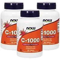 3個セット ビタミンC-1000(ローズヒップ・バイオフラボノイド配合) 100粒 [海外直送品]