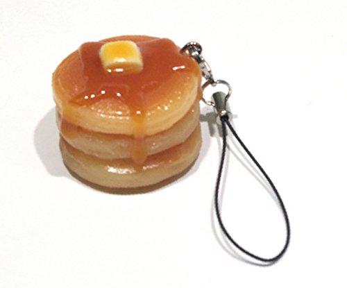 食品サンプルストラップ 食べちゃいそうなホットケーキ 014TS