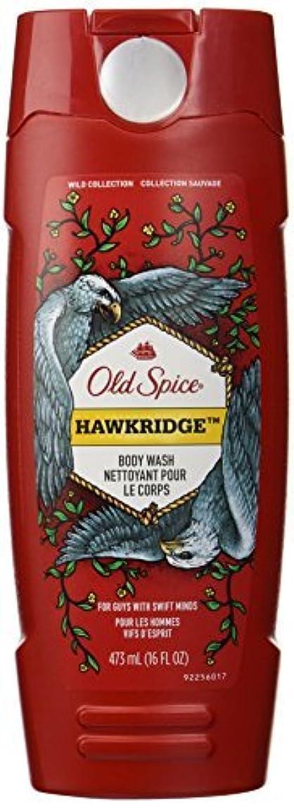 失業者テクスチャー霧Old Spice Wild Collection Hawkridge Scent Body Wash, 16 Fluid Ounce [並行輸入品]
