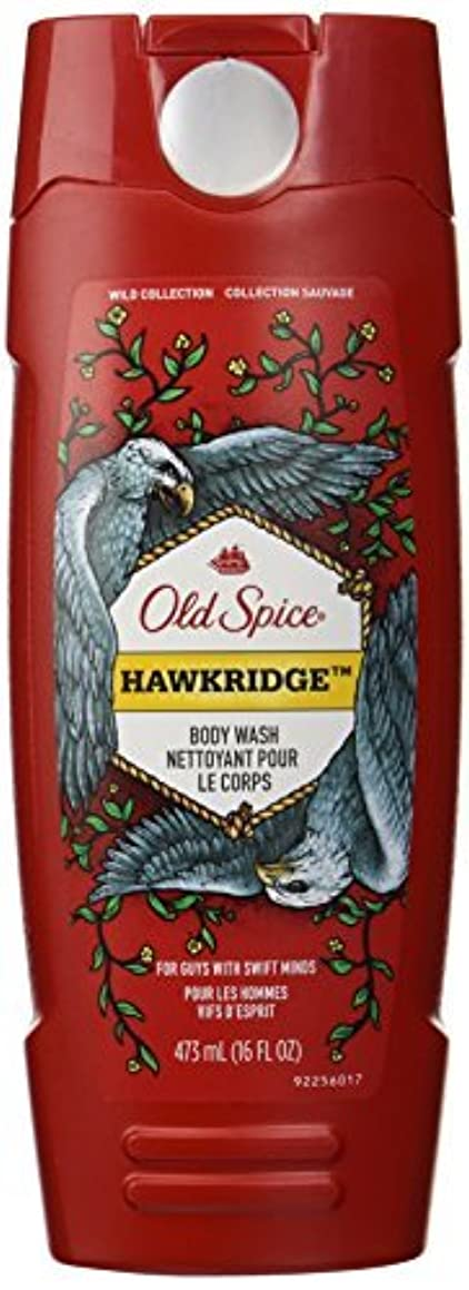 ヘッドレスまたね枝Old Spice Wild Collection Hawkridge Scent Body Wash, 16 Fluid Ounce [並行輸入品]
