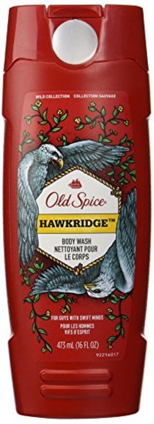個人閉じる丈夫Old Spice Wild Collection Hawkridge Scent Body Wash, 16 Fluid Ounce [並行輸入品]
