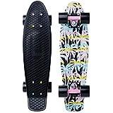"Penny Skateboard(ペニースケートボード) PENNY GRAPHICS COMPLETE 22"" 0PGR2 RETRO PALM 全長22インチ(約56cm)、幅約15cm"