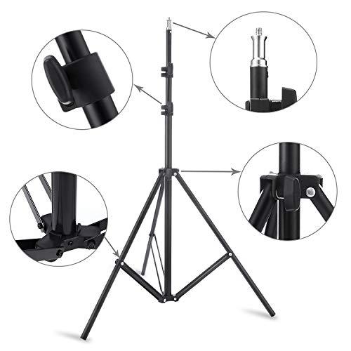 『Meking 撮影写真 自由雲台*2+ライトスタンド*2+収納ケース HTC VIVE VR専用セット』の5枚目の画像